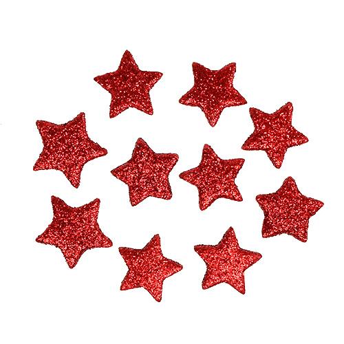 streudeko weihnachten stern rot 2 5cm 100st preiswert