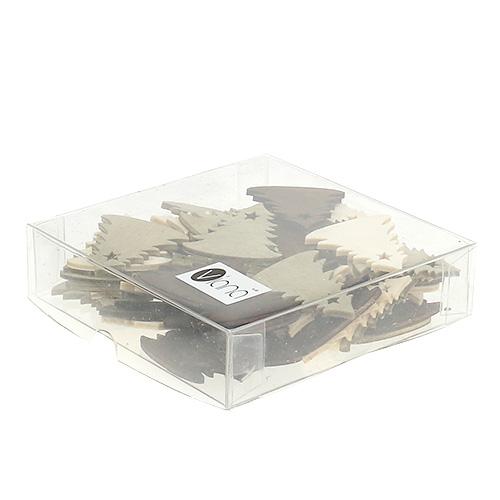 streudeko f r weihnachten tannenbaum 4cm 72st preiswert online kaufen. Black Bedroom Furniture Sets. Home Design Ideas