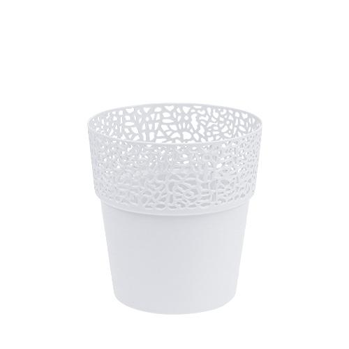 bertopf plastik wei 11 5cm h12 5cm 1st preiswert online kaufen. Black Bedroom Furniture Sets. Home Design Ideas