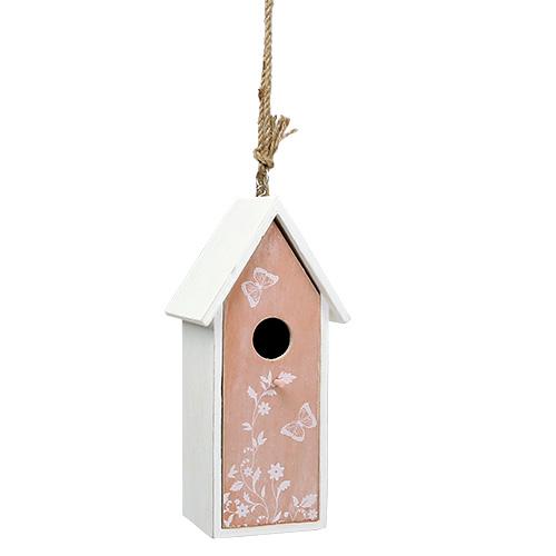 vogelhaus orange zum h ngen 25cm x 9cm preiswert online kaufen. Black Bedroom Furniture Sets. Home Design Ideas