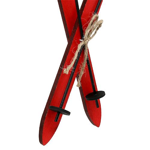 Weihnachtsdeko ski rot 11 5cm 16st preiswert online kaufen - Weihnachtsdeko rot ...