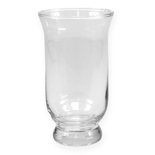 Windlicht hurricane 15cm h25cm preiswert online kaufen for Glaspokal deko