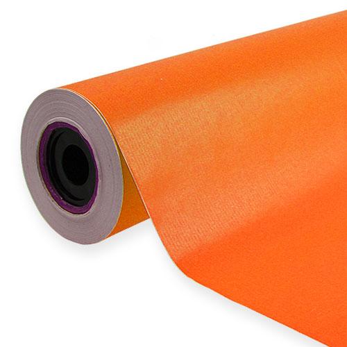 blumenseide orange 50cm 100m preiswert online kaufen. Black Bedroom Furniture Sets. Home Design Ideas