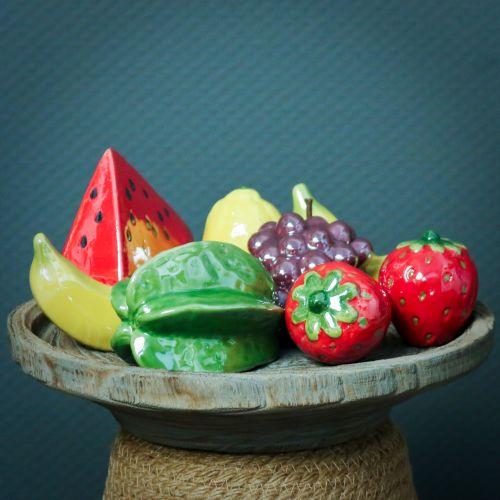 Sternfrucht Keramik 10cm 3St