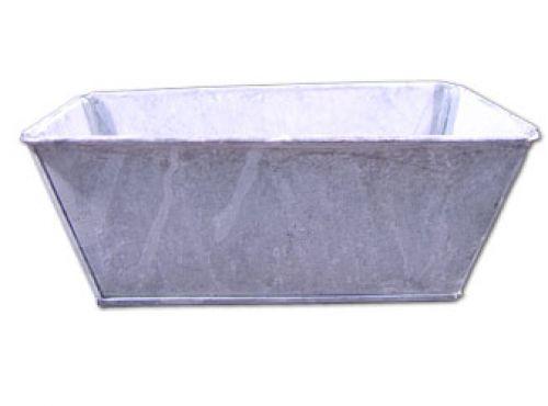 Schale 20x11x8cm 8St. grau gewaschen