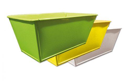 Schale 20x11x8cm 8St. gelb/grün/weiß