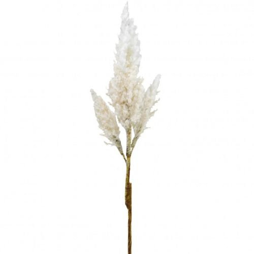 Pampasgras Weiß Creme künstlich Trockengräser Deko 82cm