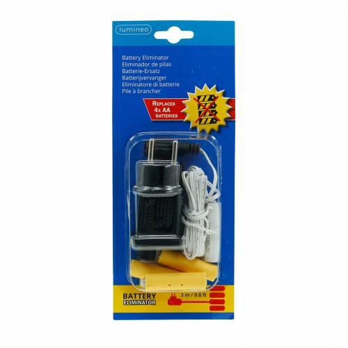 Batterie-Adapter 4 × AA 6V 3m