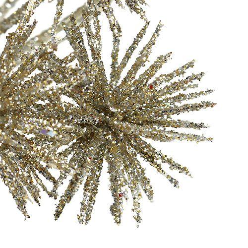 Allium mit Glimmer Champagner Ø18cm L70cm