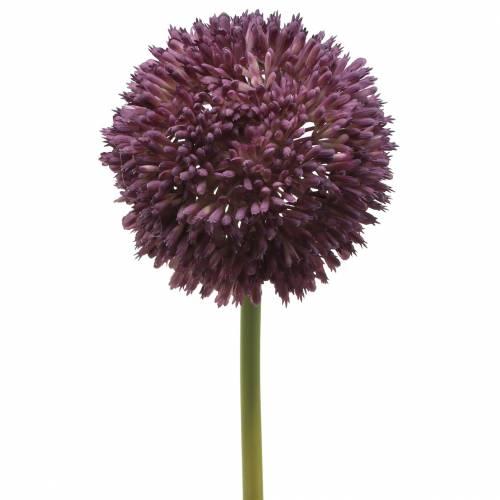 Zierlauch Allium künstlich Lila Ø12cm 65cm