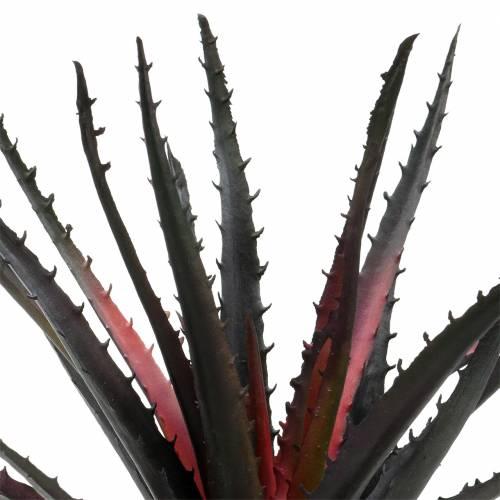 Aloe Vera künstlich Lila 26cm