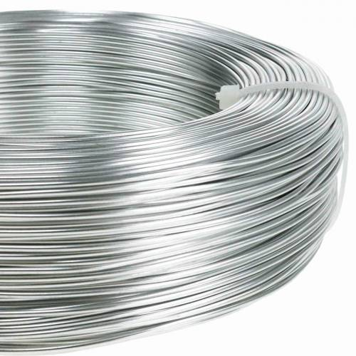 Aluminiumdraht Ø1,0mm Silbern 250g 120m