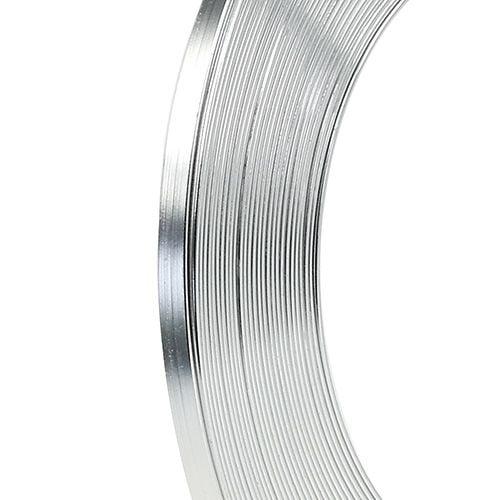Aluminium Flachdraht Silber 5mm 10m preiswert online kaufen
