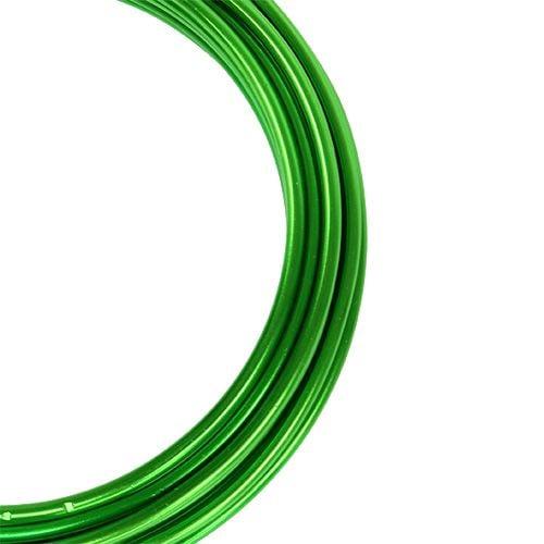 Aluminiumdraht 2mm Grün 3m