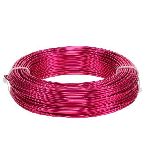 Aluminiumdraht Ø2mm Pink 60m 500g