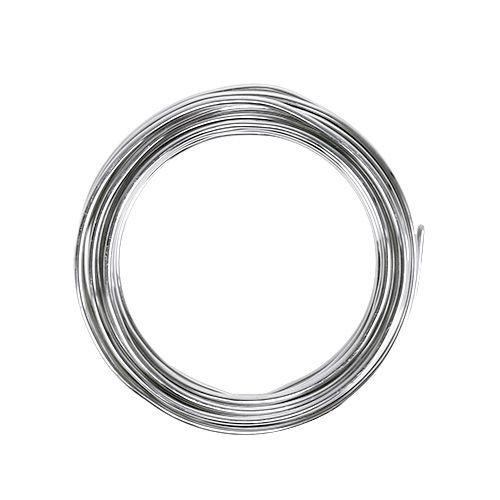 Aluminiumdraht 2mm Silber 3m