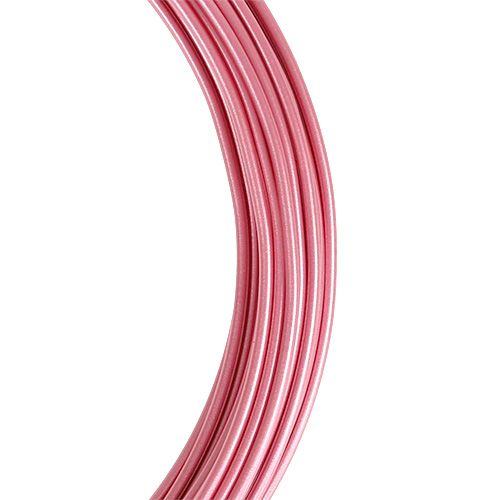 Aluminiumdraht rosa Ø2mm 12m