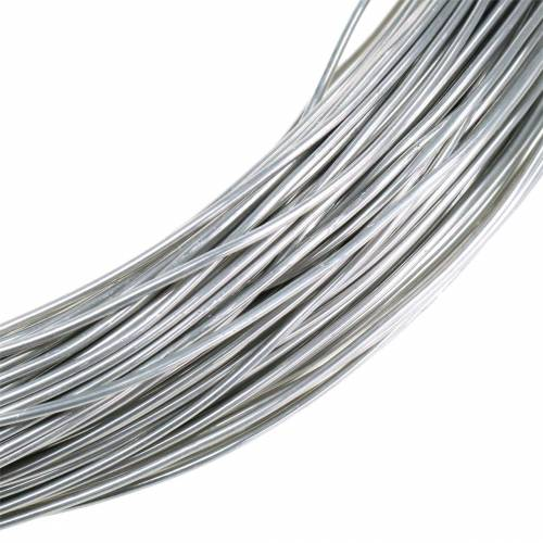 Aluminiumdraht Ø2mm Silber 1kg