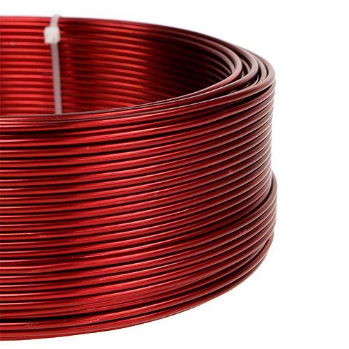 Aluminiumdraht Rot Ø2mm 500g (60m)