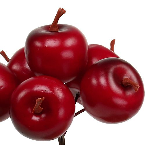 Apfel Ø3,5cm Rot 36St