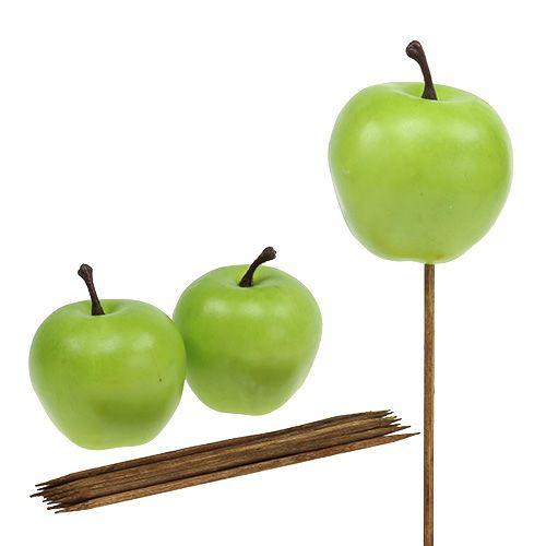 Apfel Ø5,5cm Grün 12St