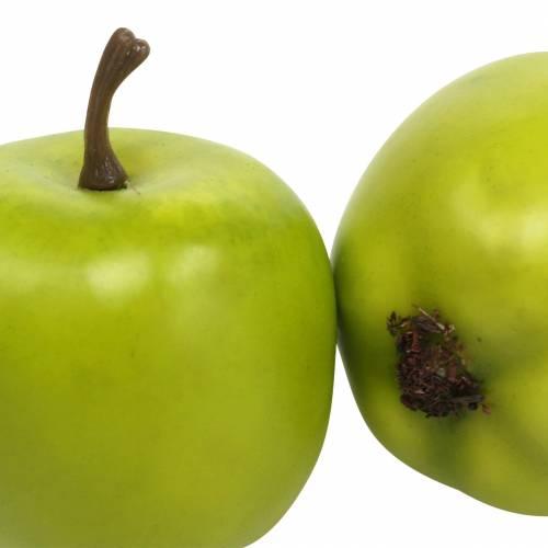 Deko-Mini-Äpfel Grüngelb künstlich H4,3cm Ø3,6cm 24St