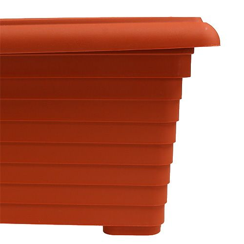 "Balkonkasten ""Nowa"" Terrakotta 64cm, 1St"