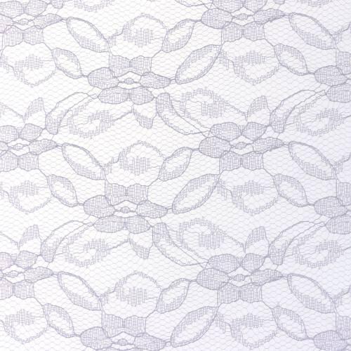 Spitzenband Tischläufer Grau 150mm 10m