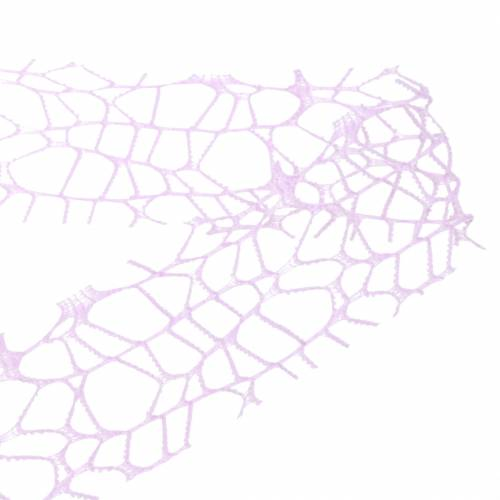 Dekoband Netzband Lavendel 40mm 10m