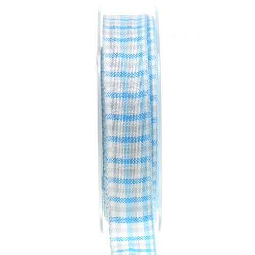Karoband Blau 25mm 15m