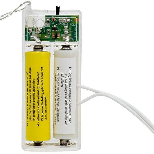 Batterie-Adapter 3Volt 2 x AA 3m Weiß