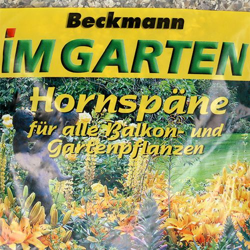 Beckmann Hornspäne 1kg Stickstoffdünger