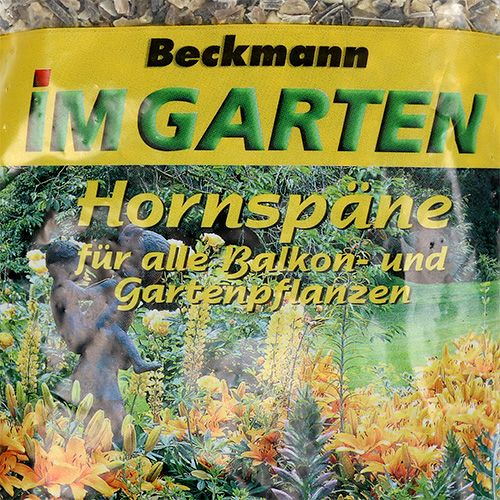Beckmann Hornspäne 500g Stickstoffdünger