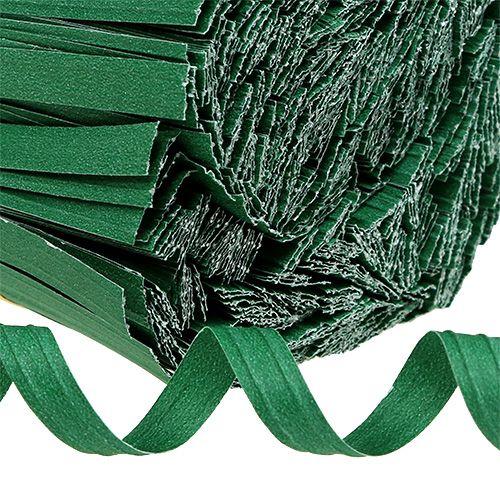 Bindestreifen mittel Grün 25cm 2er-Draht 1000St