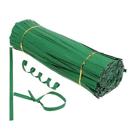 Bindestreifen lang Grün 30cm 2er-Draht 1000St preiswert online kaufen