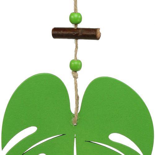 Blatt 14,5cm zum Hängen Grün