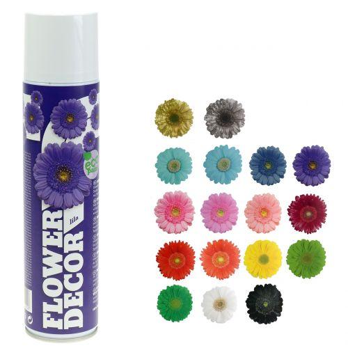 Blumenspray Flower Decor verschiedene Farben 400ml