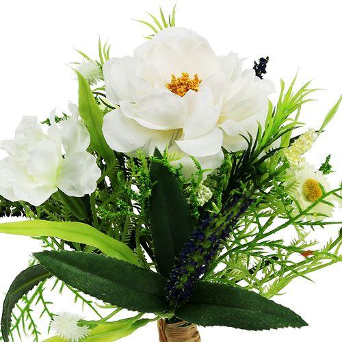 Blumenstrauß weiß 20cm