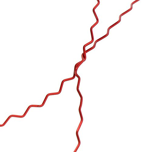 Bouilloneffektdraht Ø0,30mm 100g/140m Rot