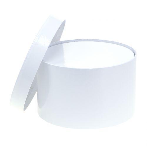 Blumenbox Weiß Ø18/20cm 2St