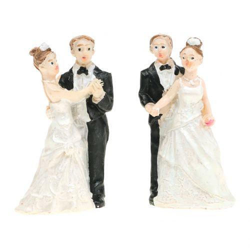 Brautpaar 6cm 2St