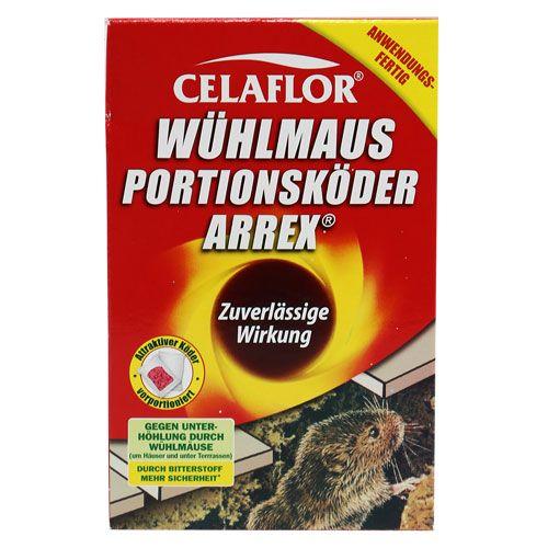 Celaflor Wühlmaus Portionskörder Arrex 200g