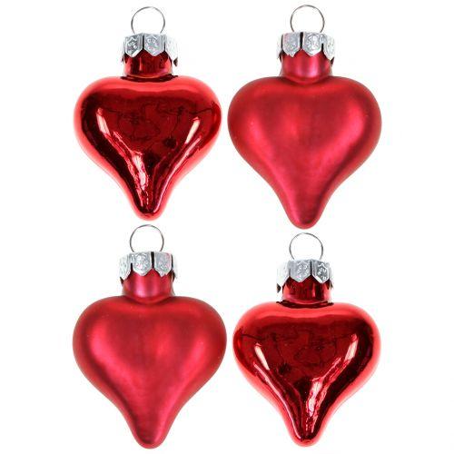 Christbaumschmuck Herzen Rot 3cm 22st Preiswert Online Kaufen