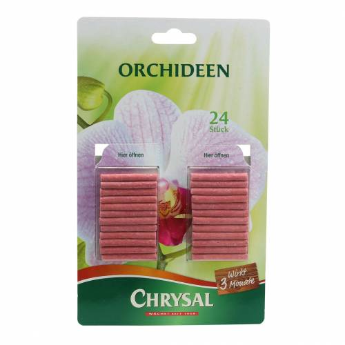 Chrysal Düngestäbchen Orchideen 24St