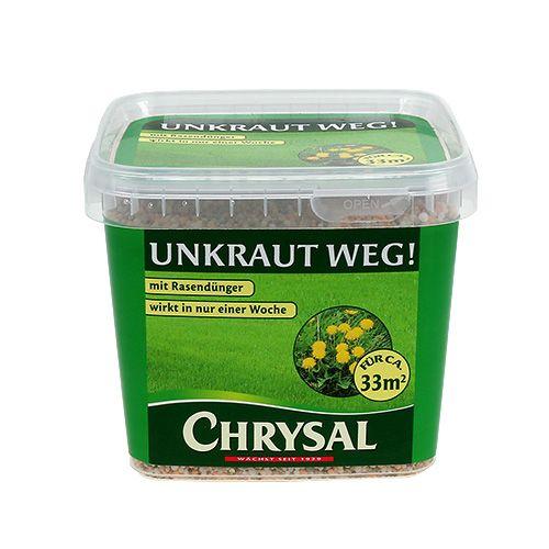 Chrysal Unkraut weg m. Rasendünger 1kg