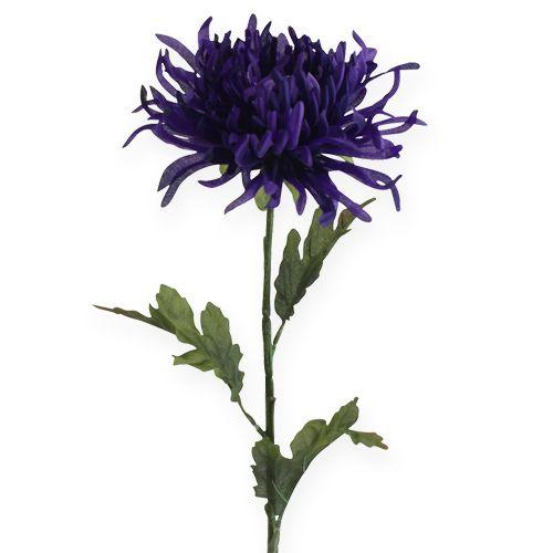 Chrysantheme Lila 74cm