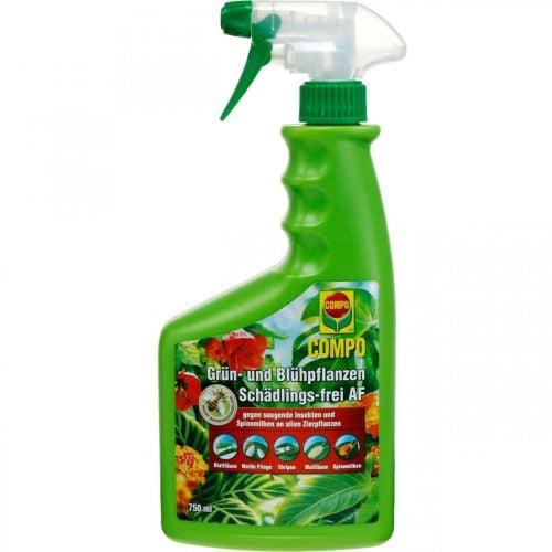 Compo Grün- und Blühpflanzen Schädlingsfrei AF 750ml