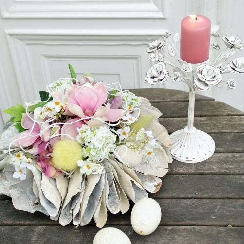 Kerzenständer Windlicht Vintage 25cm