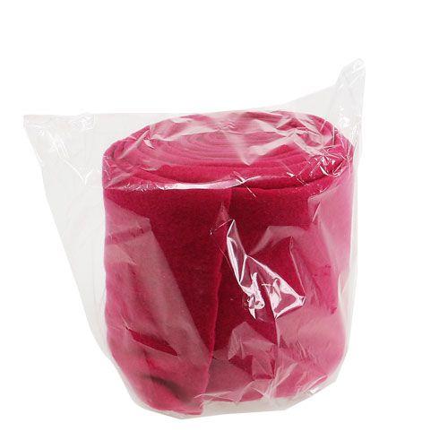Deko vlies pink 15cm 5m preiswert online kaufen for Pink deko