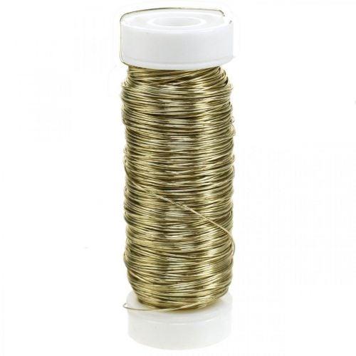 Deko Lackdraht Ø0,30mm 30g/50m Gold